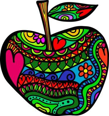 Adesivo A Apple Doodle