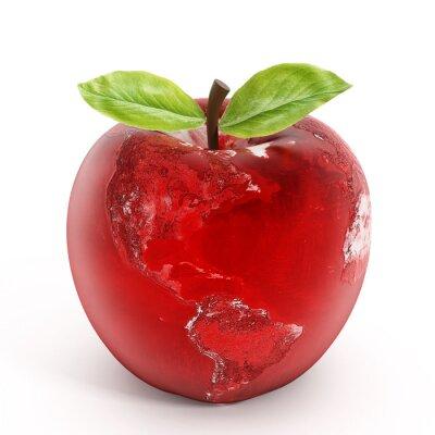 Adesivo A Apple terra