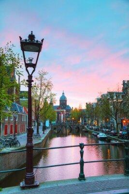 Adesivo A Basílica de São Nicolau em Amsterdão