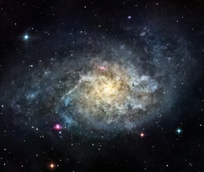 Adesivo a galáxia