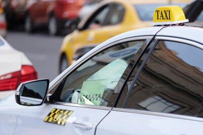 Adesivo A imagem do táxi