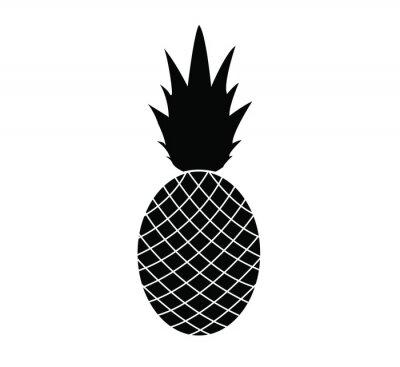 Adesivo abacaxi