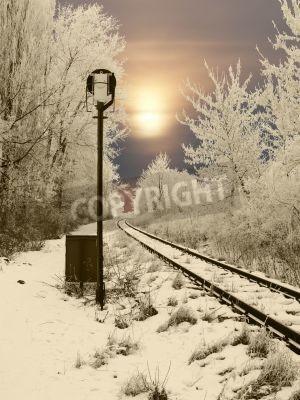 Adesivo Abandonado ferroviário