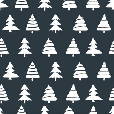 Adesivo Abeto, árvore, seamless, Padrão