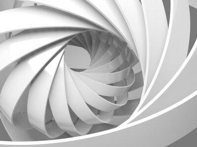 Adesivo Abstratos, digital, fundo, 3D, espiral, estrutura