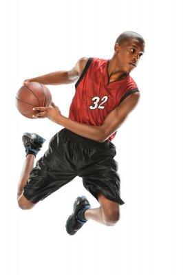 Adesivo Africano, americano, basquetebol, jogador