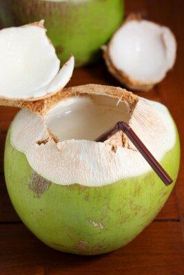 Adesivo Água de coco verde