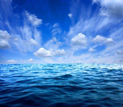 Adesivo Água do mar azul
