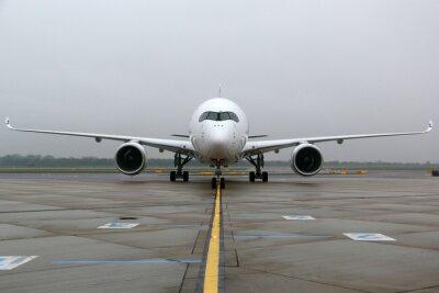 Adesivo Airbus A350 frontal
