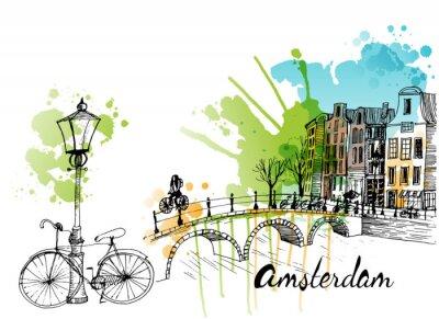 Adesivo Amesterdão