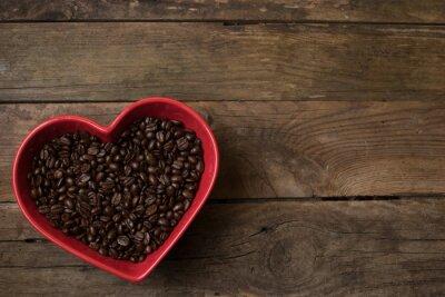 Adesivo Amor para o café,