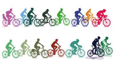 Adesivo Andar de bicicleta no grupo