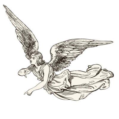 Adesivo anjo