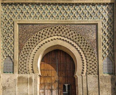 Adesivo Antigos, portões, meknes, marrocos