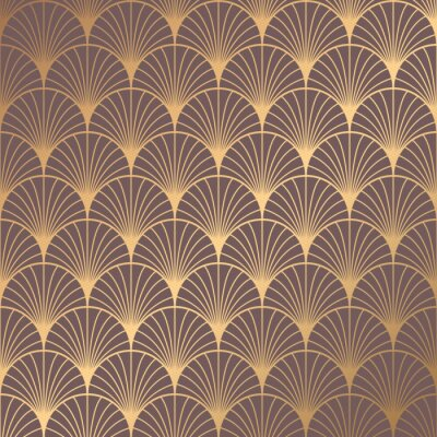 Adesivo Art Deco Pattern