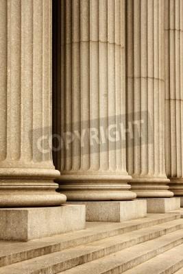 Adesivo As colunas do prédio da Suprema Corte - New York City, EUA