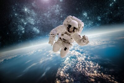 Adesivo Astronauta Elements SPAC exteriores desta imagem equipada pela NASA.