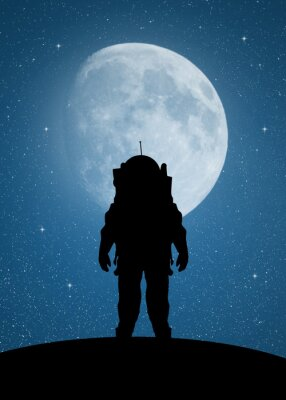 Adesivo Astronauta para Marte