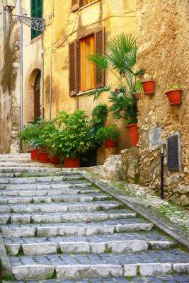 Adesivo Autênticas vilas medievais da Itália - Casperia