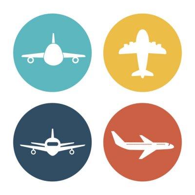 Adesivo Avião e viagens