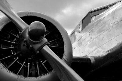 Adesivo Avion uma hélice