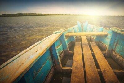 Adesivo Barcos em um river_5