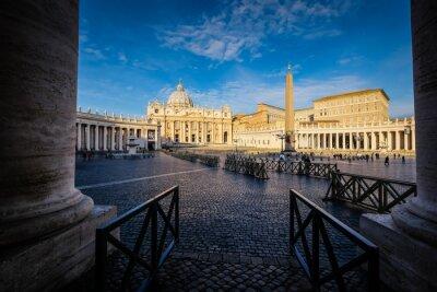 Adesivo Basílica de São Pedro em Roma, Itália