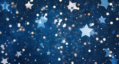 Adesivo Beautiful decorative Christmas background
