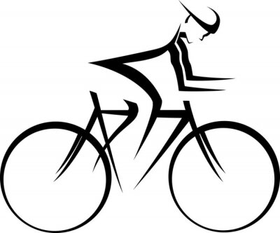 Adesivo Bicycle Racer Accent
