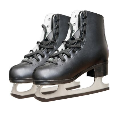 Adesivo Black skate isolado no fundo branco