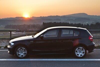 Adesivo BMW Sonnenuntergang do sol