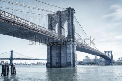 Adesivo brooklyn bridge in new york