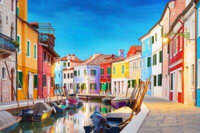 Adesivo Burano Veneza Itália