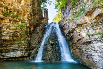 Adesivo Cachoeira bonita na floresta