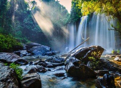 Adesivo Cachoeira tropical