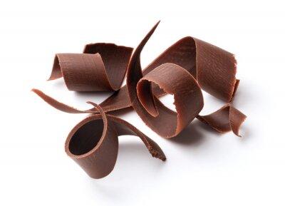 Adesivo Cachos de chocolate escuro