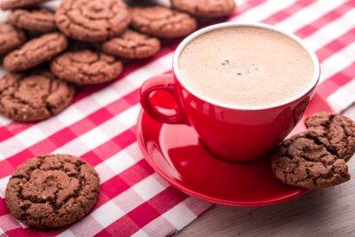 Adesivo Café e cookies