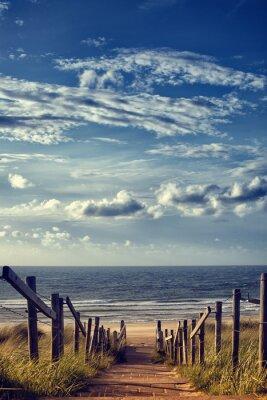 Adesivo Caminho para a praia pelo mar