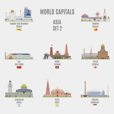 Adesivo capitais mundiais