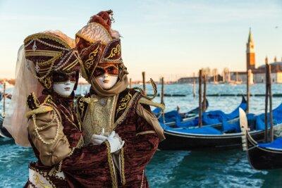Adesivo Carnevale Venezia