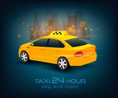 Adesivo carro de táxi