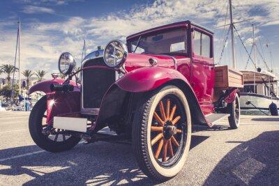 Adesivo Carro do vintage no porto.