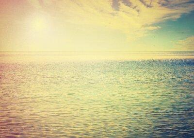Adesivo Céu bonito e mar azul