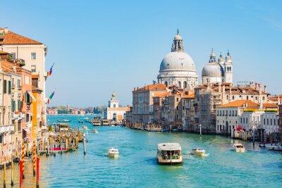 Adesivo Céu da noite em Veneza, Itália