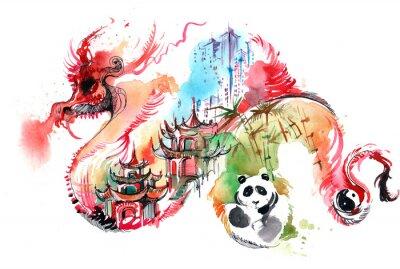 Adesivo China
