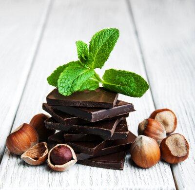 Adesivo Chocolate com nozes