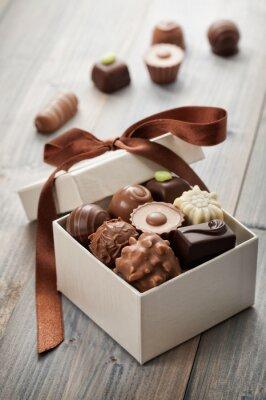 Adesivo chocolates