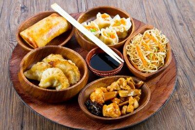 Adesivo cibo cinese