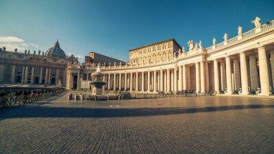 Adesivo Cidade do Vaticano e Roma, Itália: Praça de São Pedro