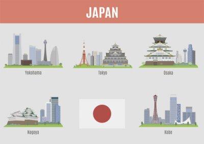 Adesivo Cidades em Japão